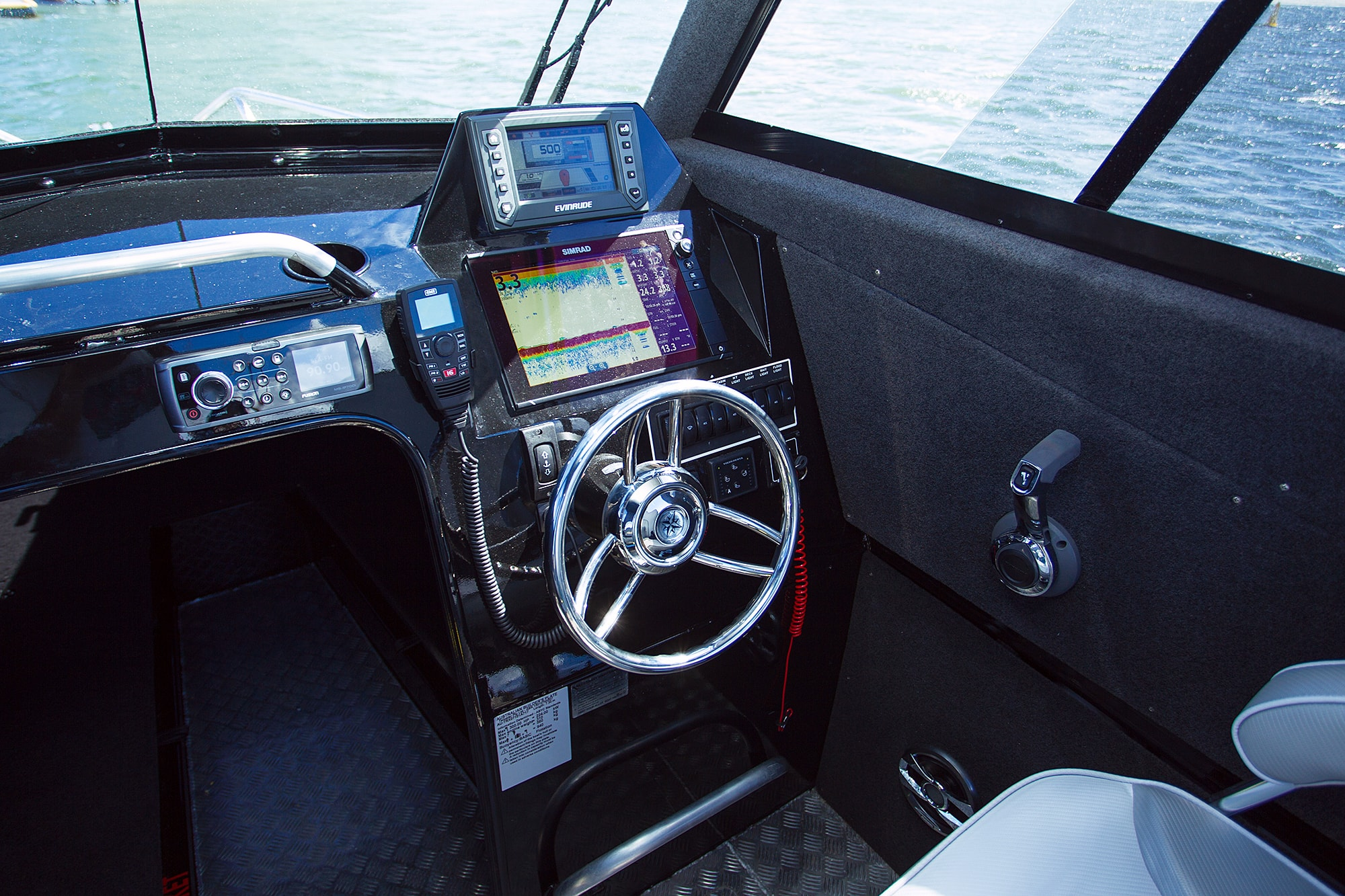 The Hydraulic Steering